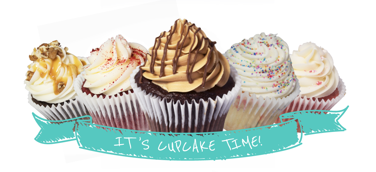 Cupcakes, it's cupcake time!