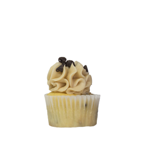 mini cookie dough cupcake
