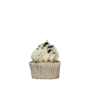mini cookies and creme cupcake