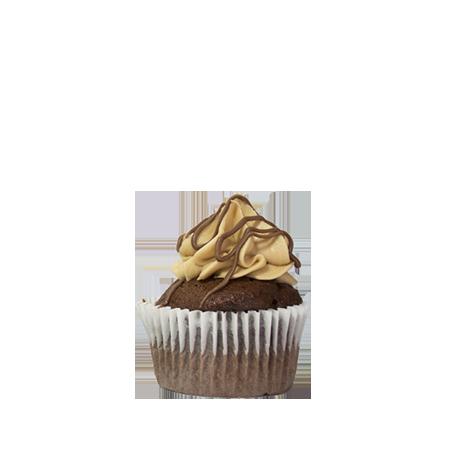 mini mocha latte cupcake