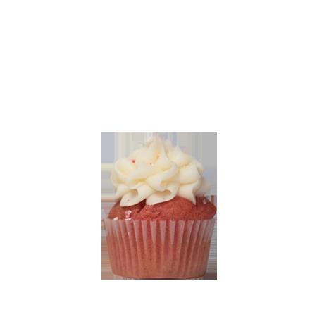 mini strawberry bliss cupcake