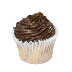 chocolate birthday cupcake
