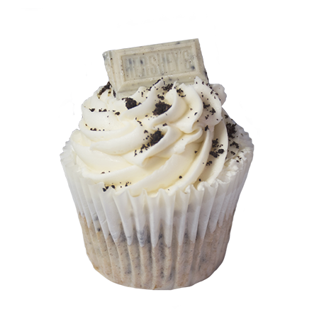 cookies and creme cupcake