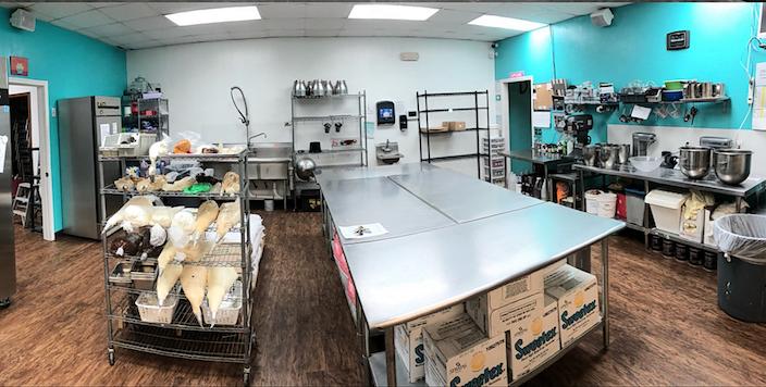 The Buttersweet Yukon kitchen