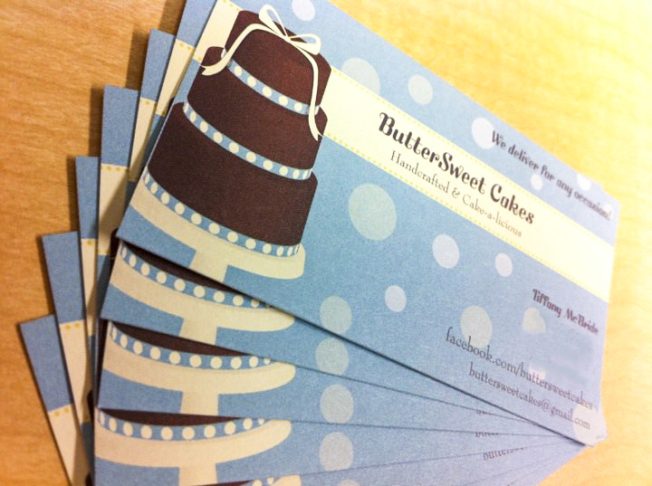 Early Buttersweet Cakes Business Cards